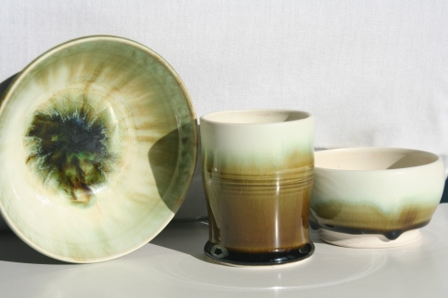 Frost and Moss- Soup, Tumbler and Dipping